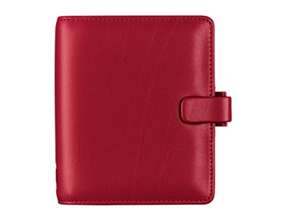 A5 Teacher's Filofax in Red