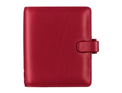 A5 Teacher's Filofax in Red
