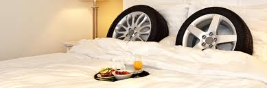 There Are Hotels For Your Spare Set of Tyres