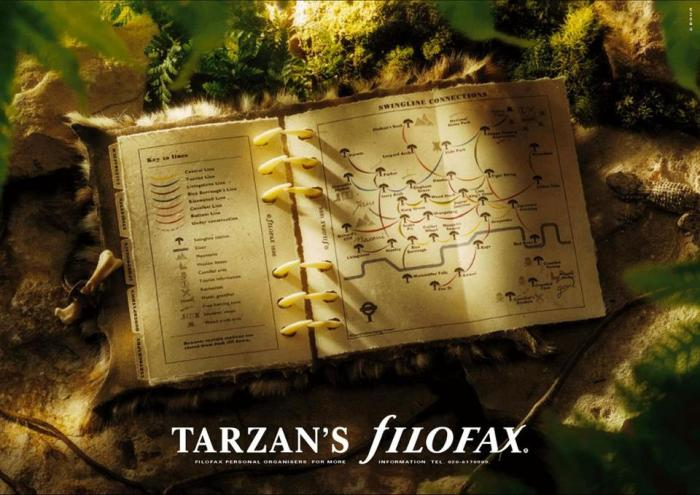 Tarzan's Filofax