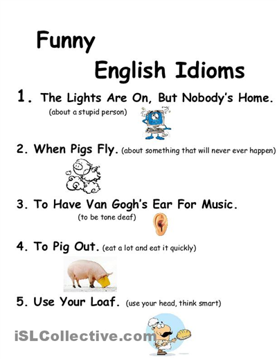 using english idioms in writing good essays Useful phrases for proficiency essays  down and practise using them in your own writing  write slightly more engaging stuff for his english students,.