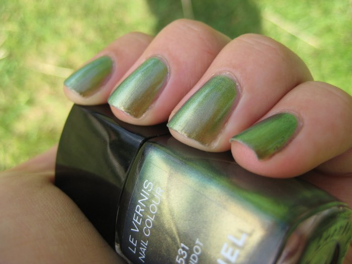 Chanel peridot shade 2