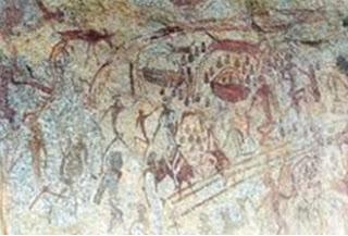 Bushmen painting 1