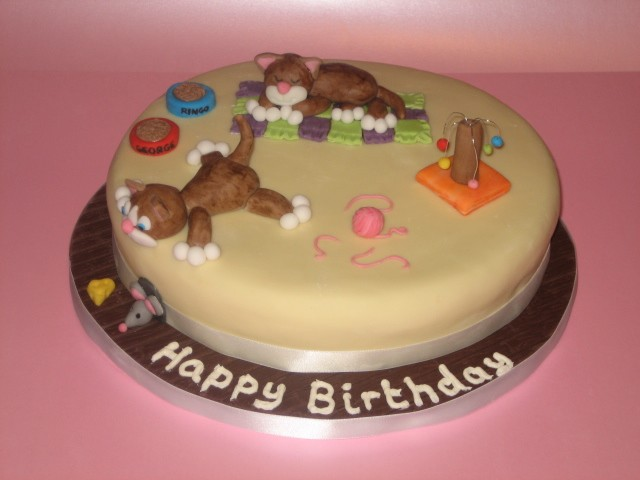 Cat Cakes – Janet Carr @