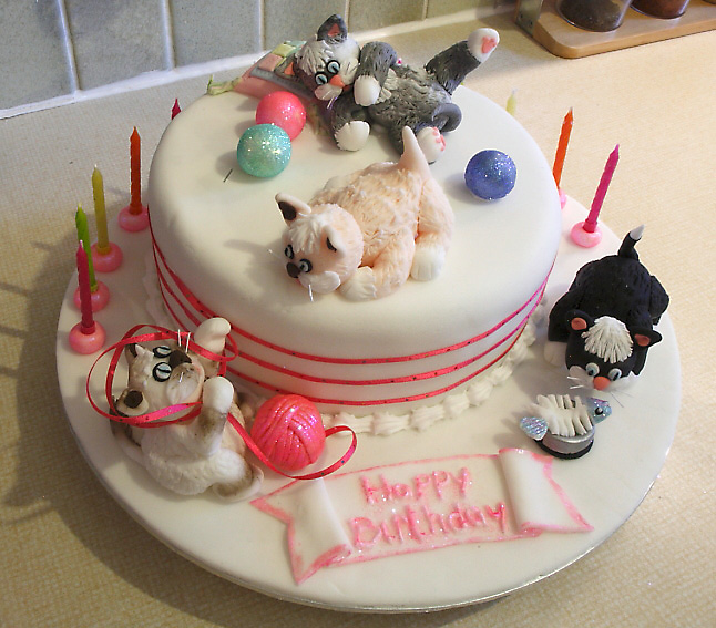 Birthday Cat Cake Recipes Image Inspiration of Cake and Birthday
