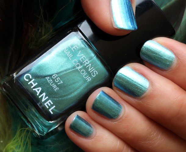 New Chanel Nail Varnish Azure Janet Carr