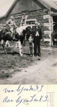 Farm dog 1925