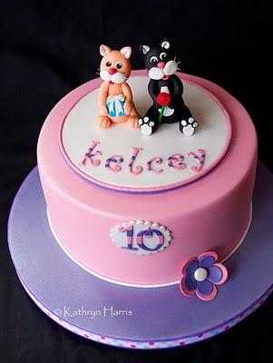 Kelcey Cat Cake