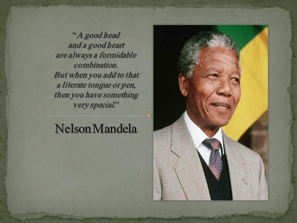 Nelson Mandela Quotes Janet Carr