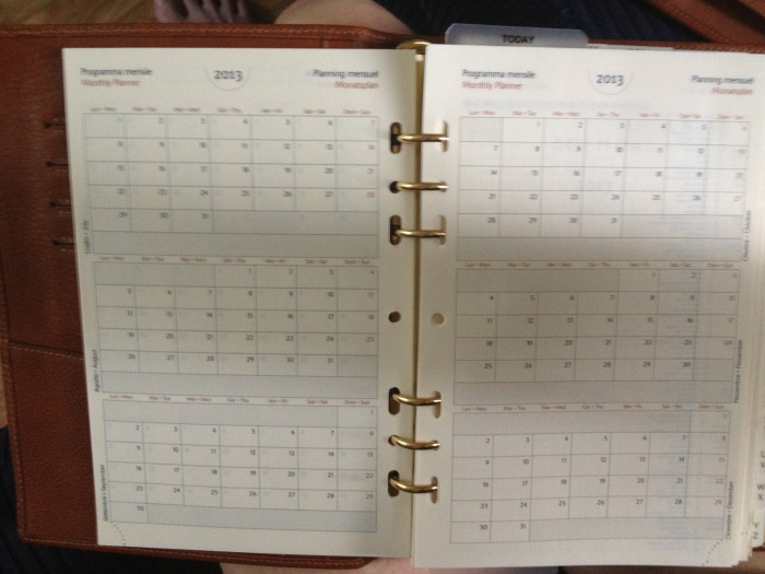 lovely month planner