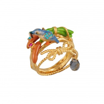 les-nereides-paris-jewelry-martin-pecheur-triple-ring-with-bow-reeds-and-bird