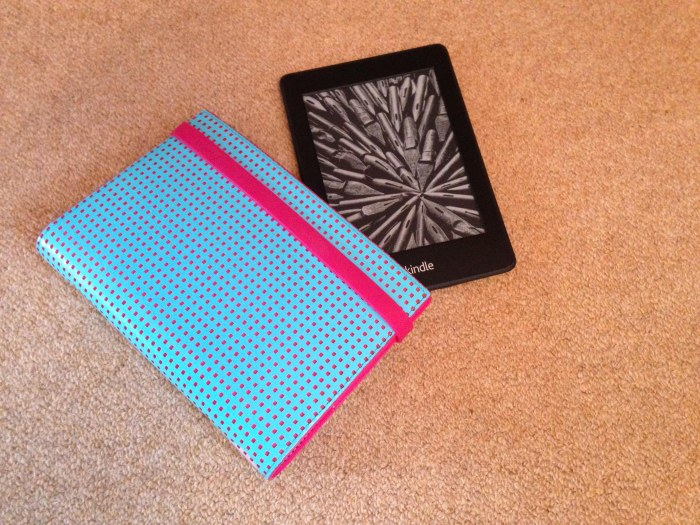 Filofax and Kindle 1