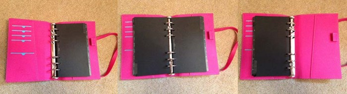 Filofax inside detail 1