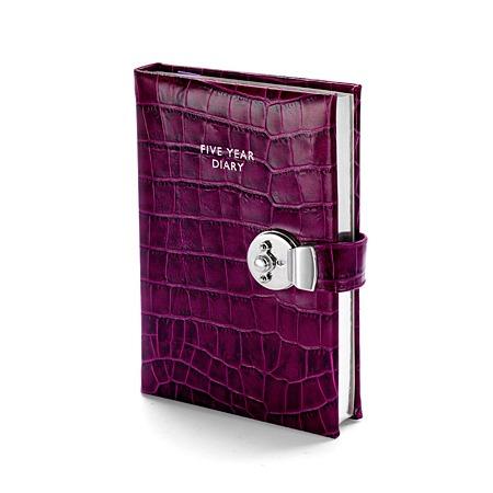 5 Year Lockable Diary