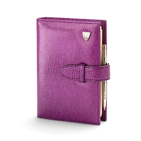 Aspinal - violet Bijou Organiser, reduced from £125 to £37.50