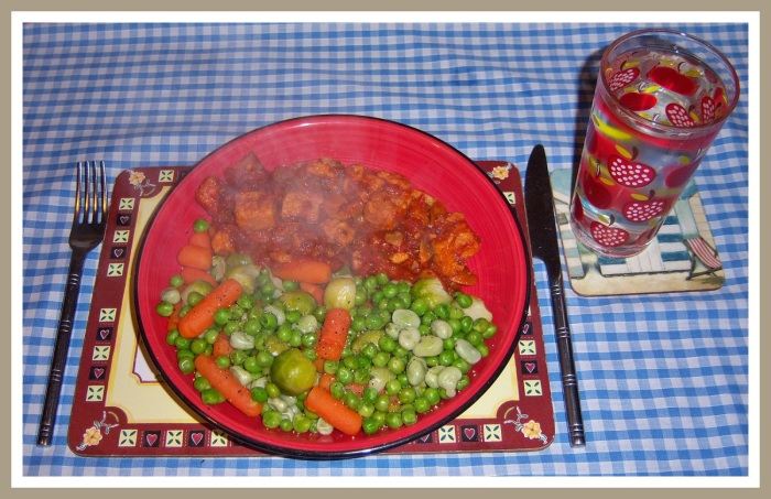 (4) Quorn Chicken & Vegetables
