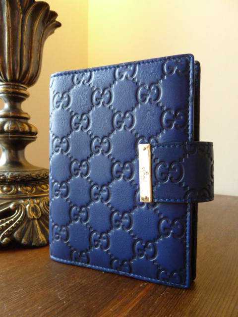 Gucci Agenda in Royal Blue