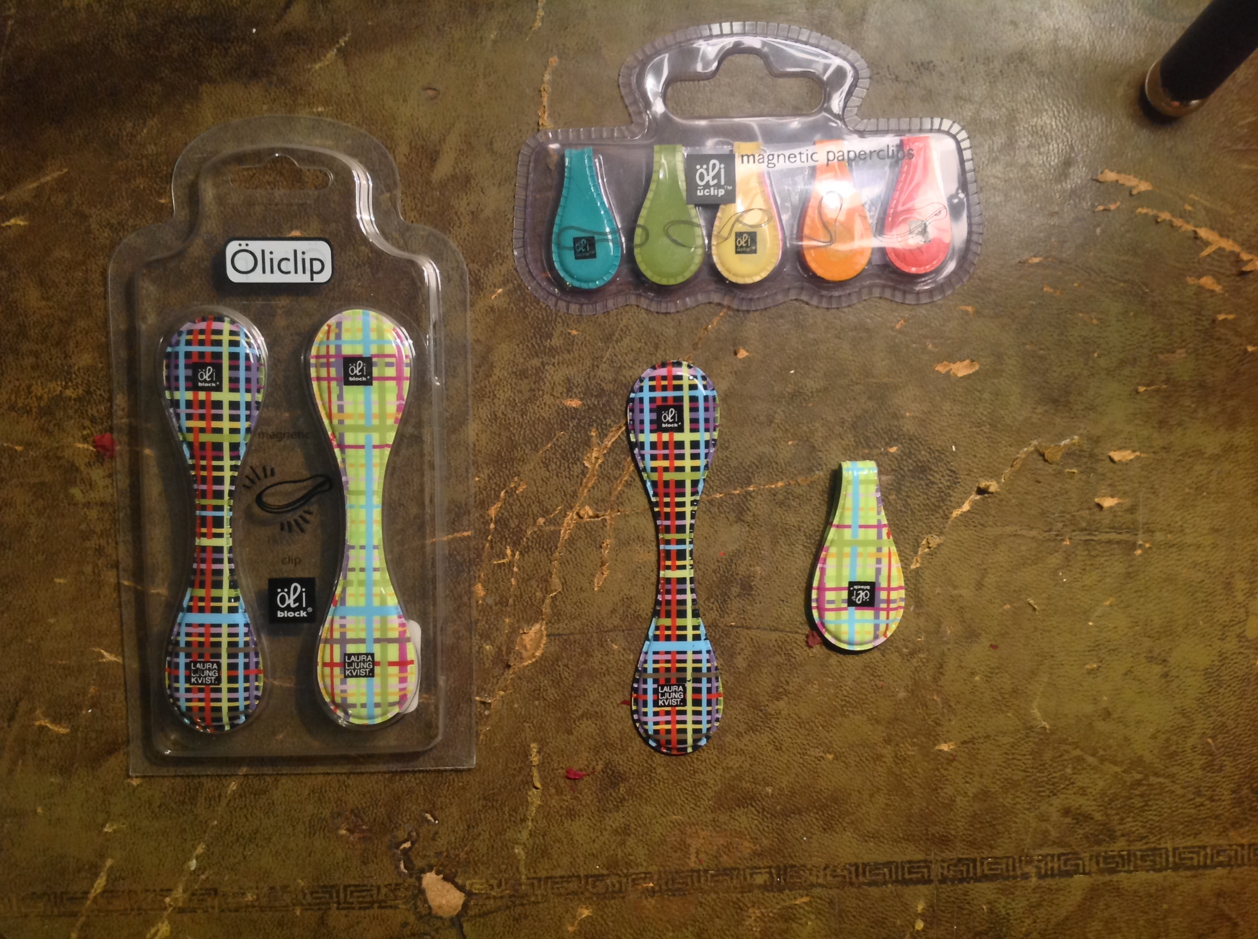 Oli Magnetic Paper Clips – Janet Carr @