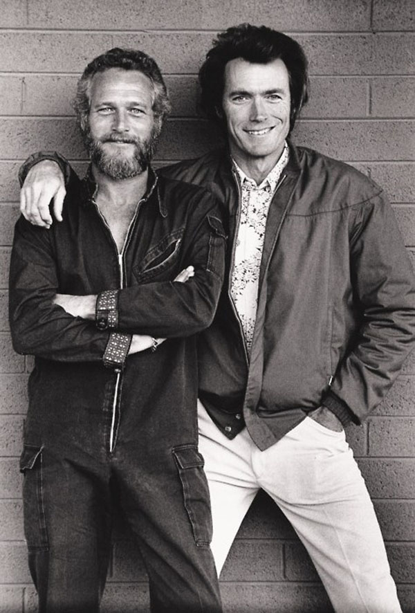 Clint Eastwood and Steve McQueen