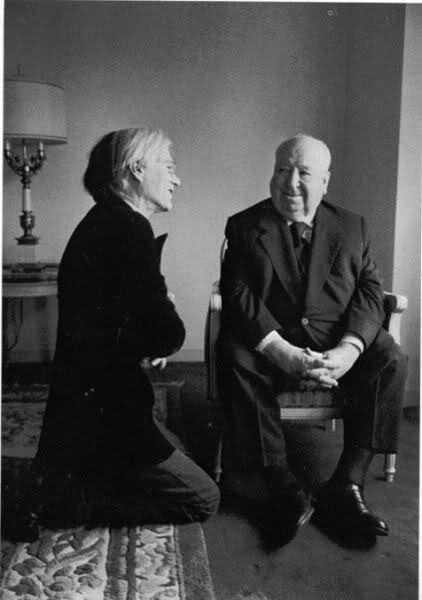 Salvador Dali and Alfred Hitchcock