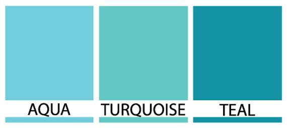 AquaTurquoiseTeal