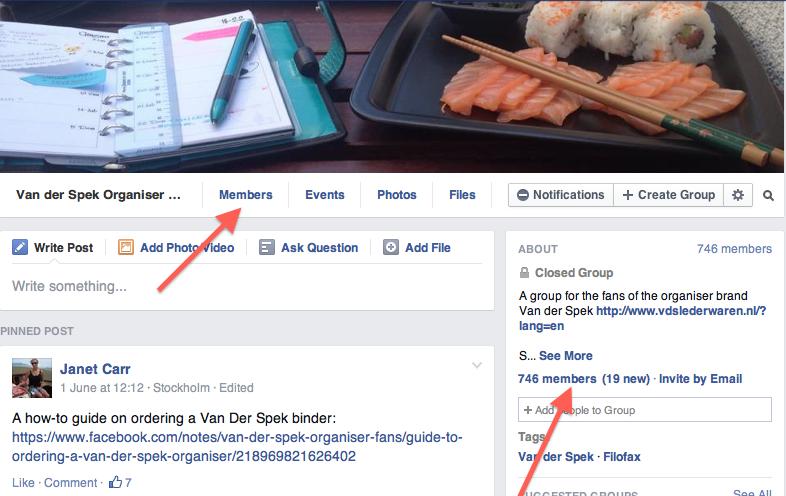 Facebook Group Etiquette (2/3)