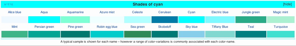 What does the color jade look like