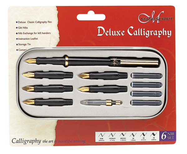 Calligraphy Pens Janet Carr
