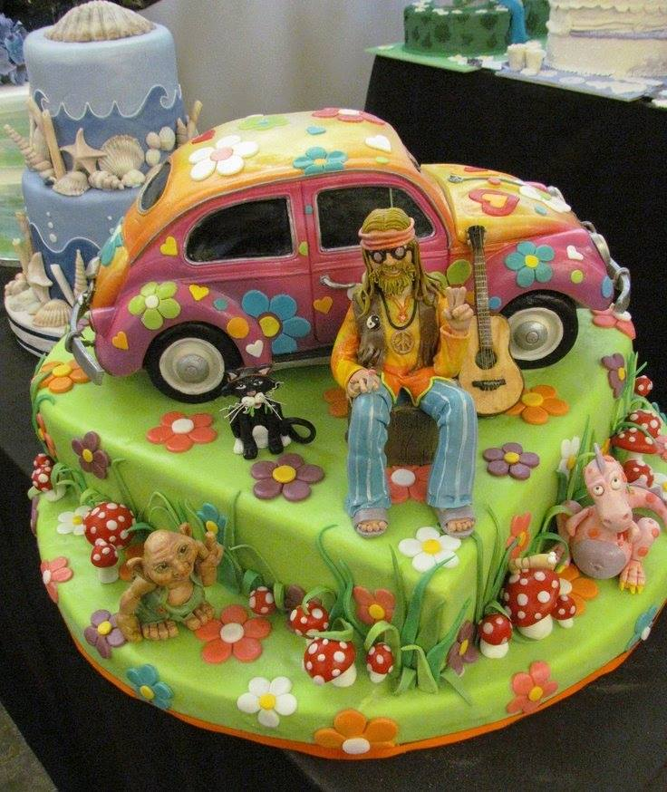 Vw Beetle Cake Decorations