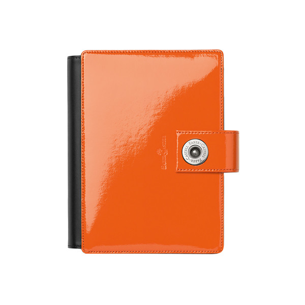 FC18192~Faber-Castell-Pocket-Organiser-Patent-Leather-orange_P1