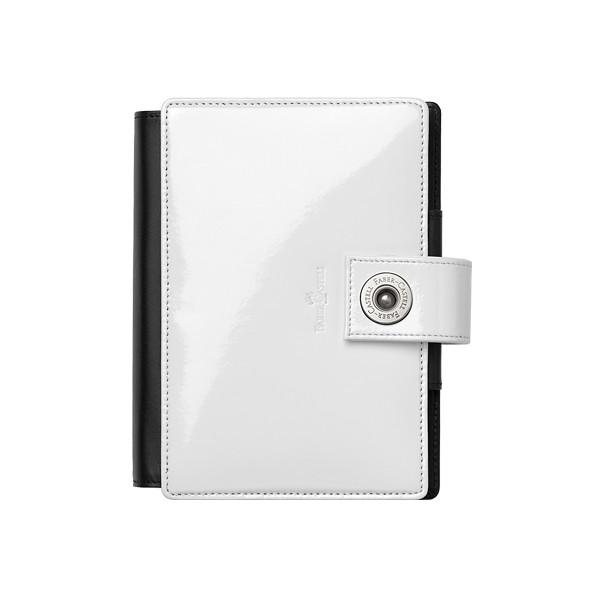 FC18193~Faber-Castell-Pocket-Organiser-Patent-Leather-White_P1
