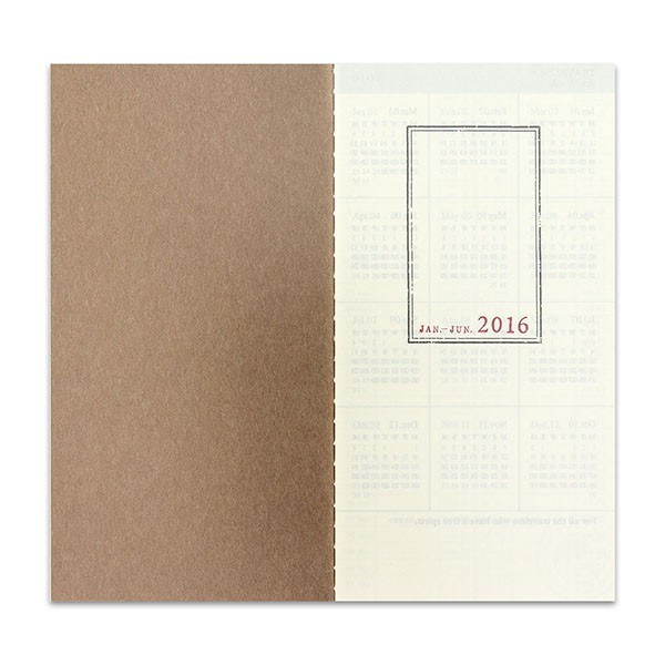 midori vertical week on two pages calendar janet carr