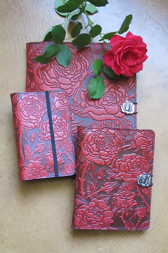 Red-Rose-Leather-Covers-iPad-Kindle-Pocket-Notebook