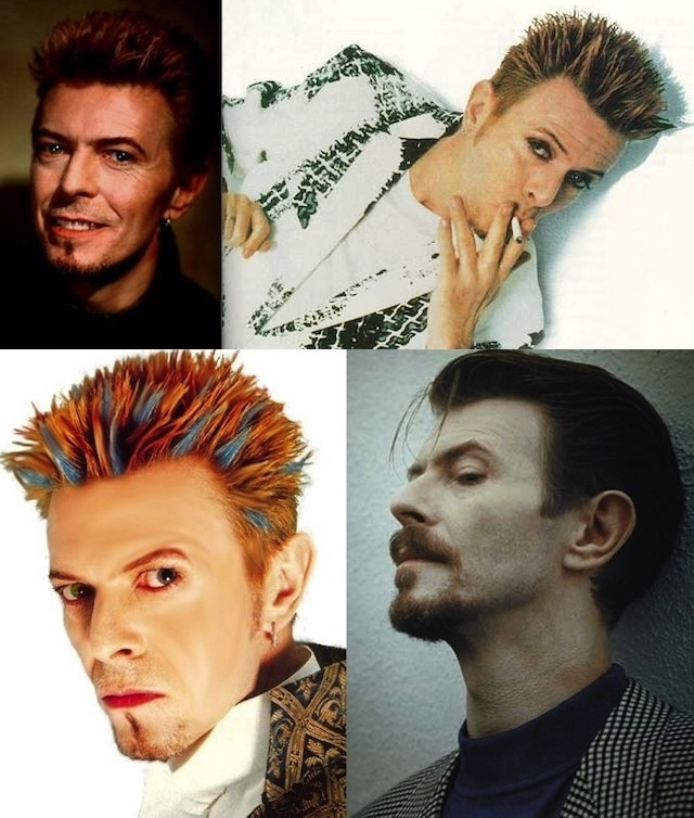 david bowie hair 1990s
