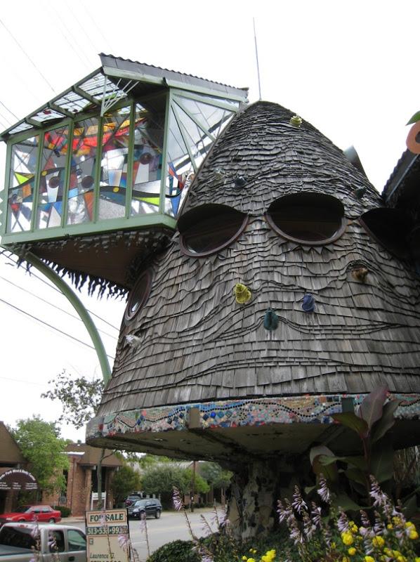 8. The Mushroom House