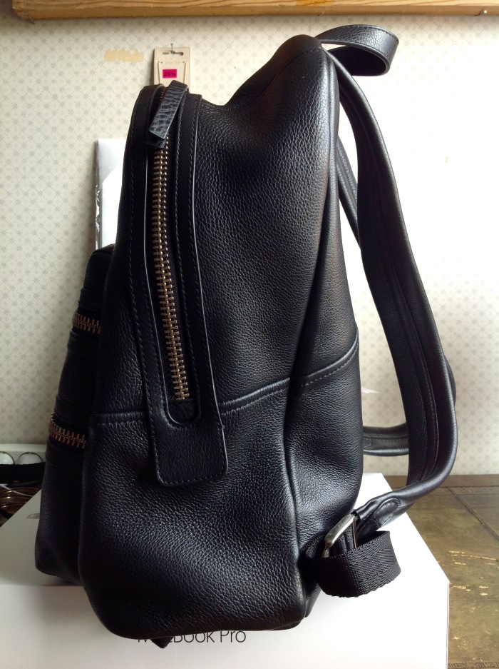 special price for discount price Super discount Marc by Marc Jacobs Domo Biker backpack in black – Janet Carr @