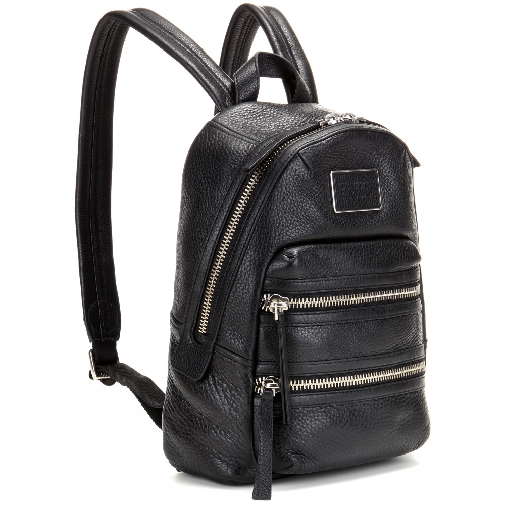 331a357536e4 Marc Jacobs Leather Zip Backpack- Fenix Toulouse Handball