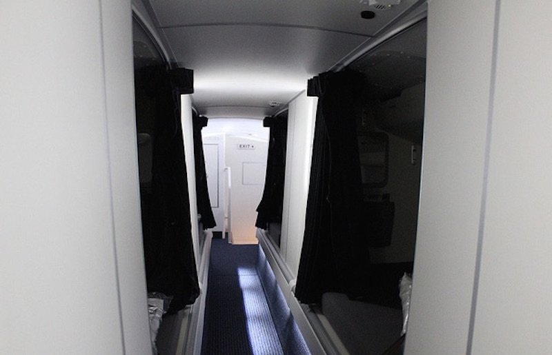 Where Cabin Crew Sleep On Long Haul Flights Janet Carr