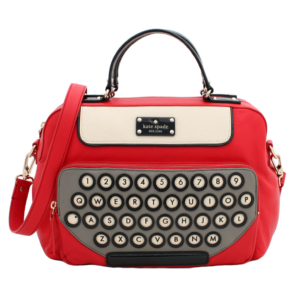 Kate Spade Be Mine Typewriter Satchel – Janet Carr