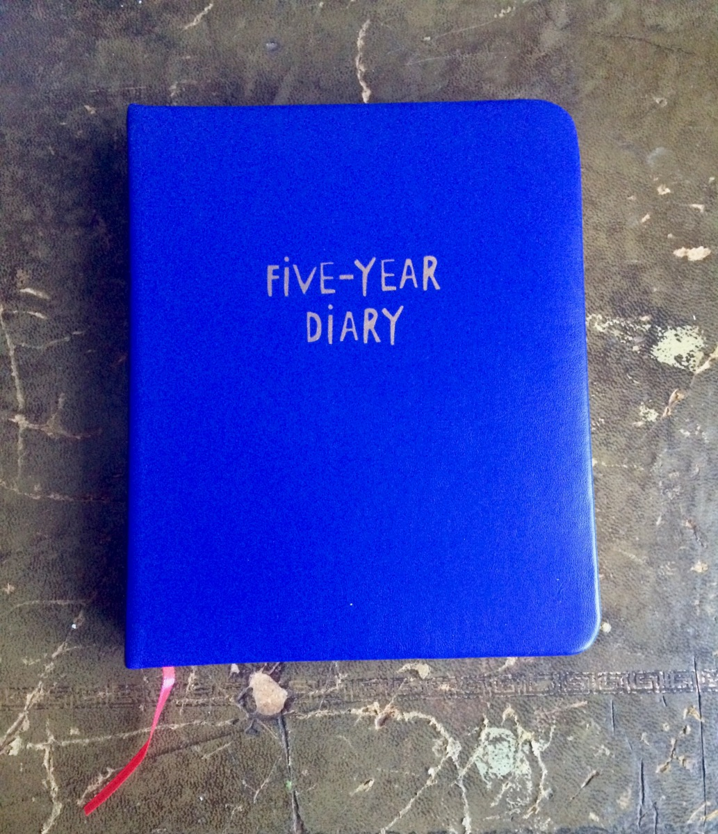 Flying Tiger Five-Year diary