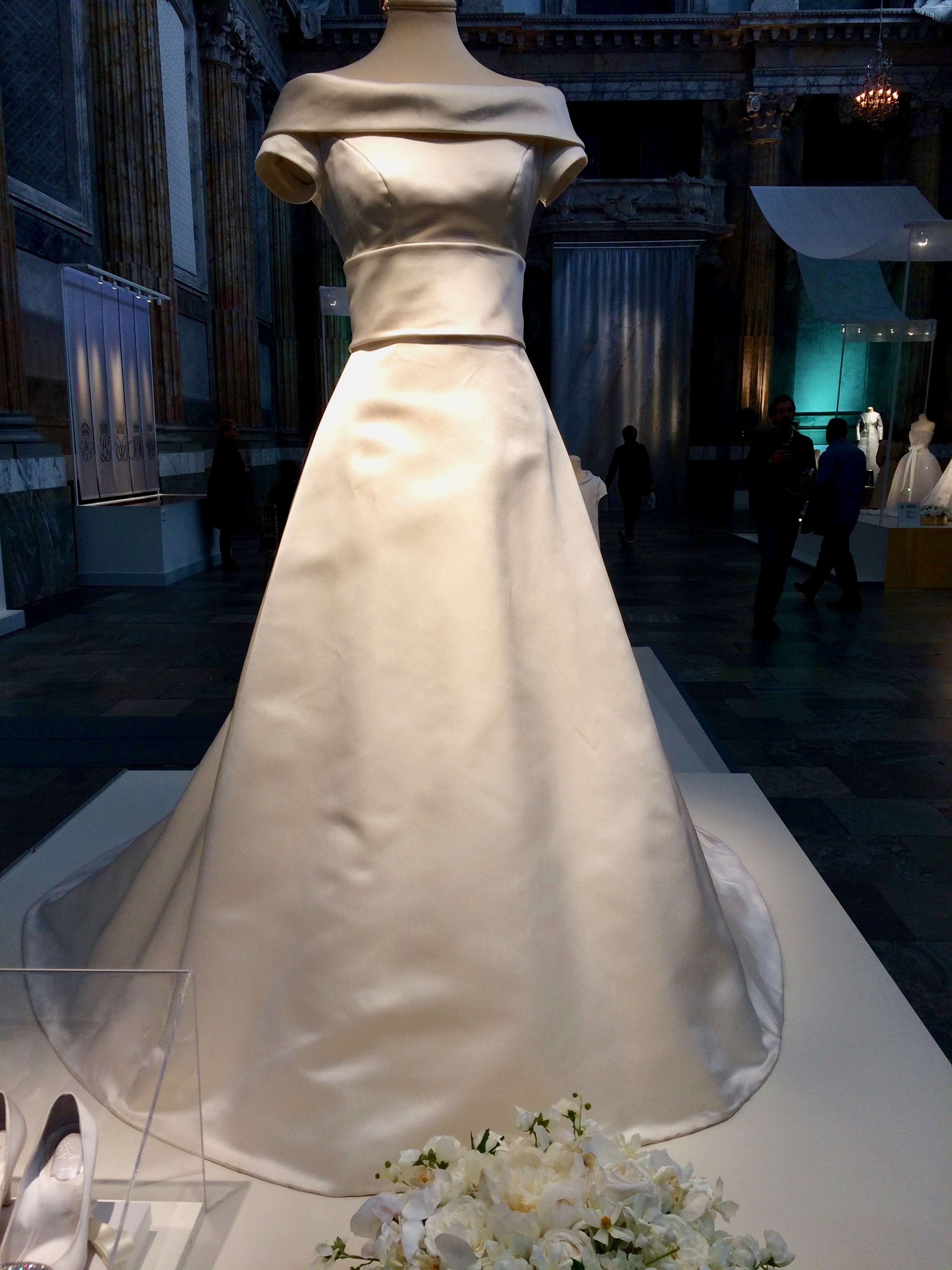 This One Is The 1976 Wedding Dress Of Queen Silvia She Walked Up Aisle A Moner And Down I Have Never Been Fan As It: Swedish Royal Wedding Dresses At Websimilar.org