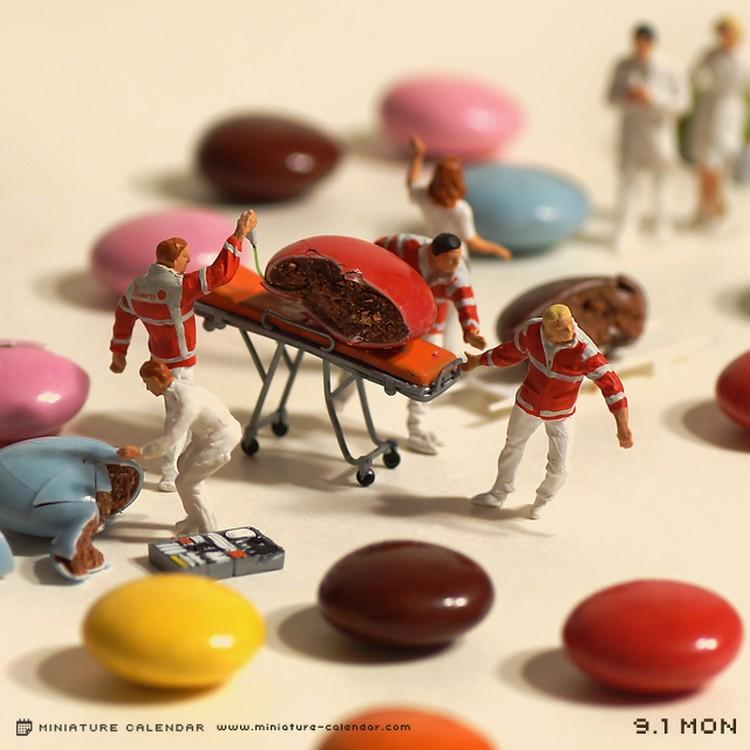 Tatsuya Tanaka's daily miniature calendar – Janet Carr