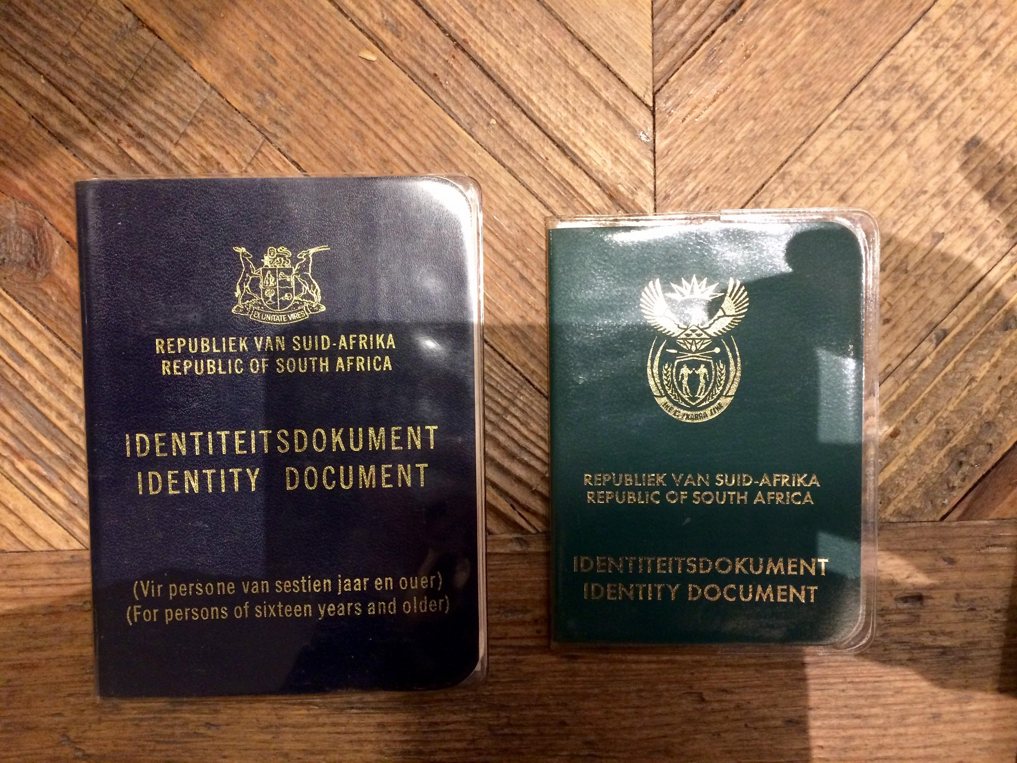 Sa id book verification of employment