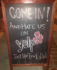 Funny Chalkboard Signs Outside Restaurants Janet Carr