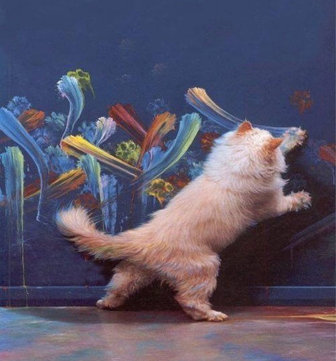 Why Cats Paint: A Theory of Feline Aesthetics, by Burton Silver