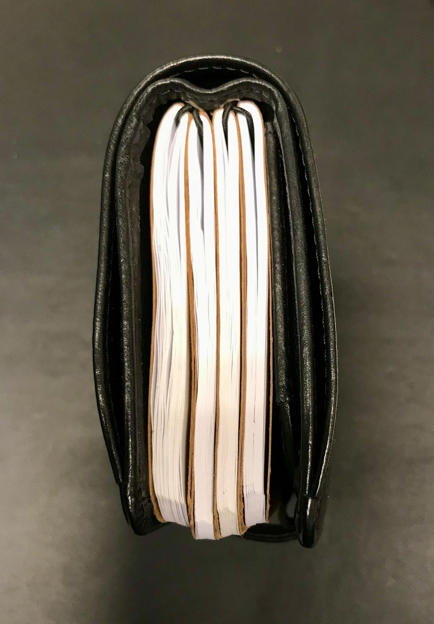 Glorious Black Janet Leather Nodex