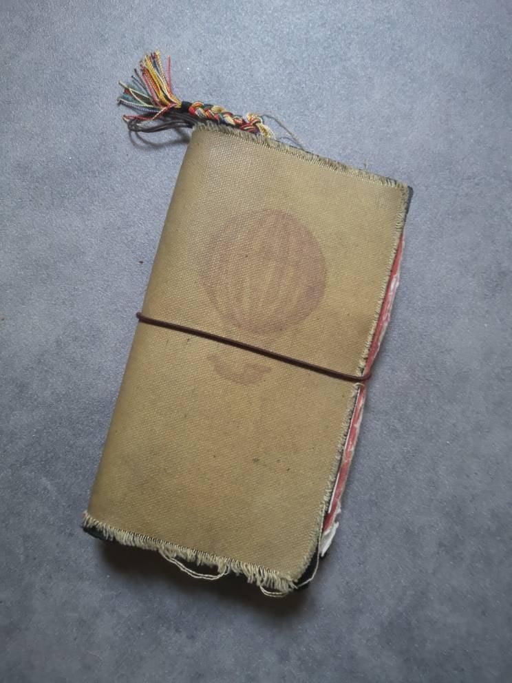 What a beautiful traveler's notebook!