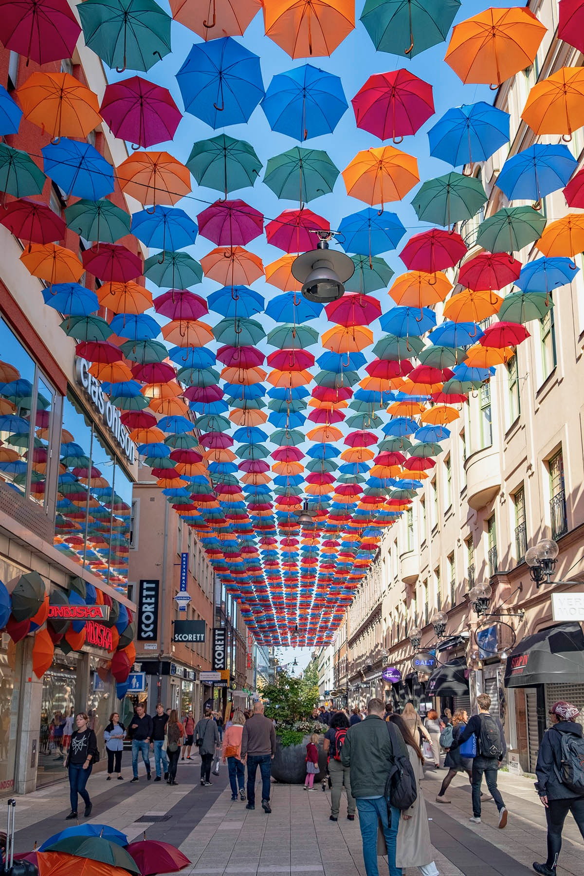 Umbrella Sky Project x Indiska, Stockholm